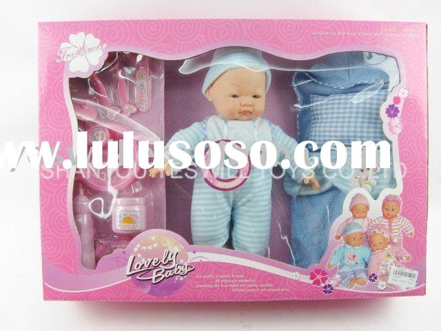 B/O clothes baby doll set with IC