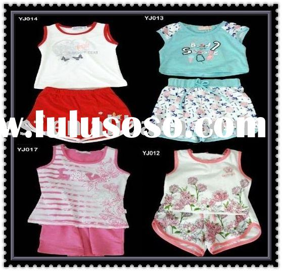 Baby's cotton sets