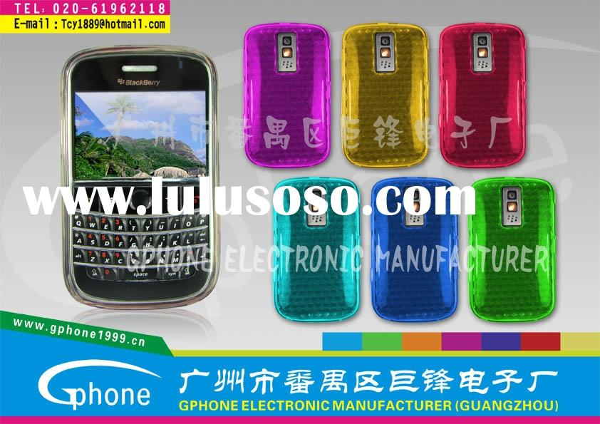 Blackberry case:cellphone case/TPU case for Blackberry9000