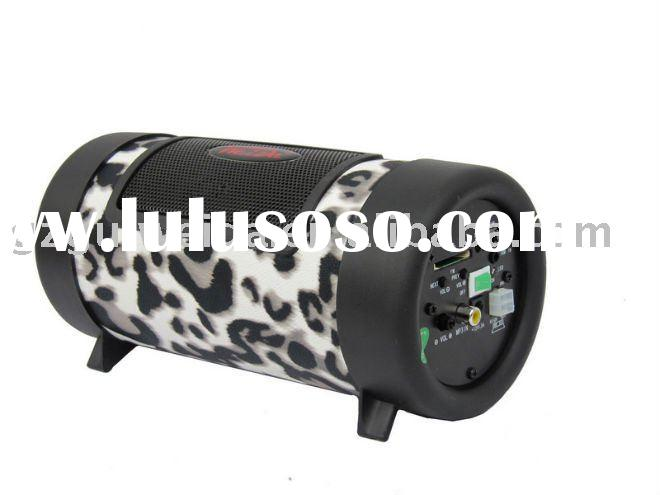 Car subwoofer 4 inch cylinder with sd/usb/mp3 function(WD-4002)