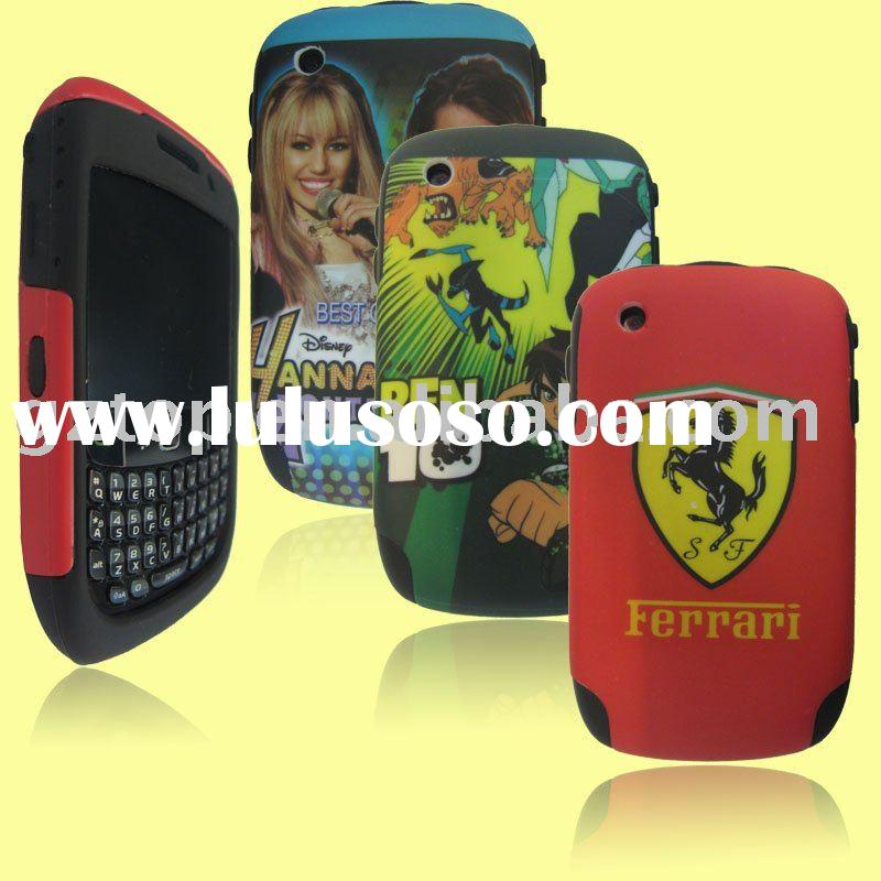 DESIGN 2nd COMBO MOBILE PHONE CASE  FOR BLACK BERRY 8520