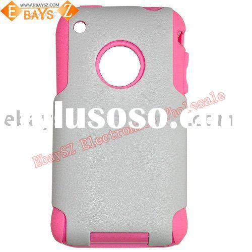 Double Protect Cell Phone Case for iPhone 3G,Matt Material