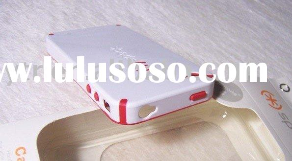 Double color  Plastic Case Cover for Mobile Phone 4G