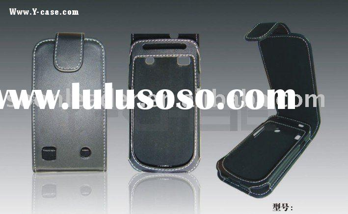 Flip leather case for Samsung galaxy S i9000