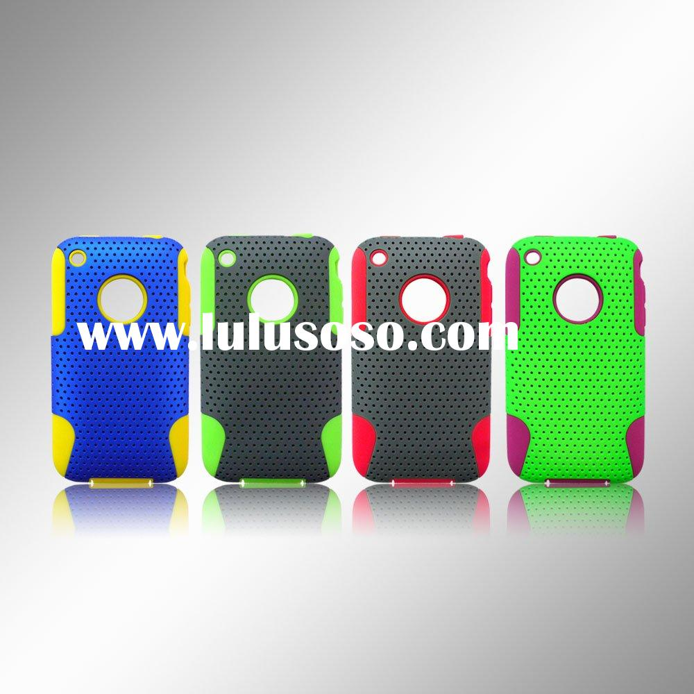 For Apple Iphone 3G/3GS Mesh Combo Mobile Phone Case