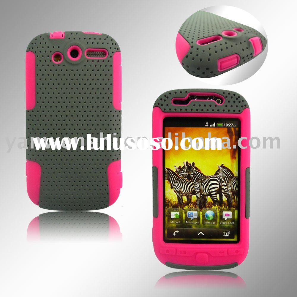 For HTC Mytouch 4G Mesh Hybrid Cell Phone Case