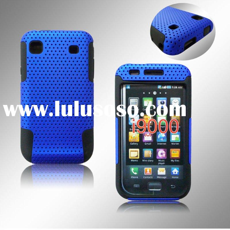For Samsung Galaxy I9000 Mesh Combo Cell Phone Case