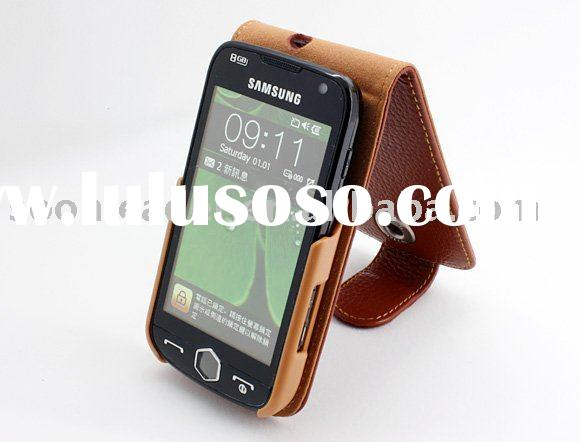 Genuine leather case for I8000