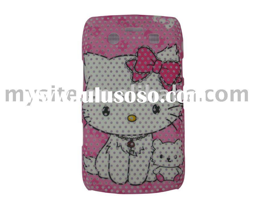 Hello Kitty cell phone case for BlackBerry 9700