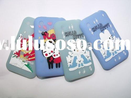 Hello kitty case,mobile phone case, silicone case, promotion gift