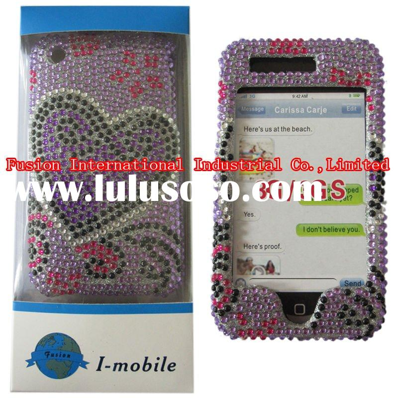 JEWELED CELL PHONE CASE