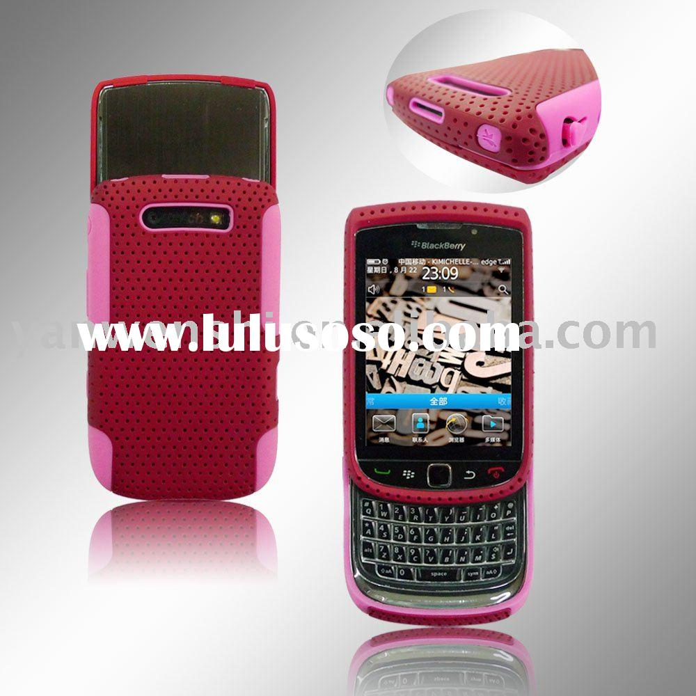 Mesh Combo Mobile Phone Case for Blackberry Curve 8520
