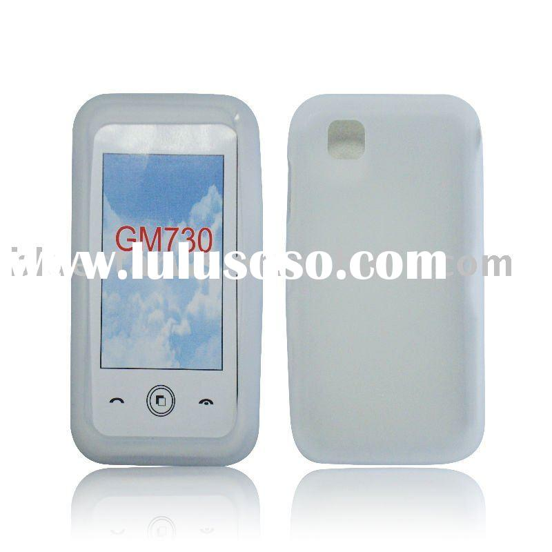 Mobile Phone Silicone case for LG GM730/Silicone skin for LG GM730/cell phone case for LG GM730