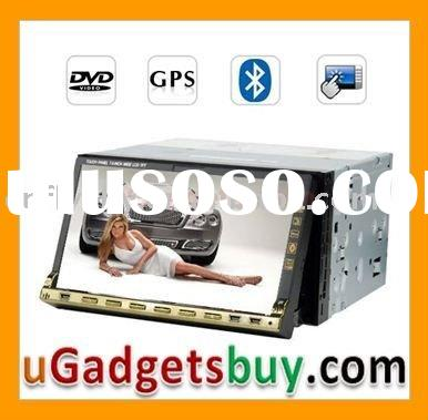 Multimedia Touch Screen Car DVD Player + GPS - Dual-Zone