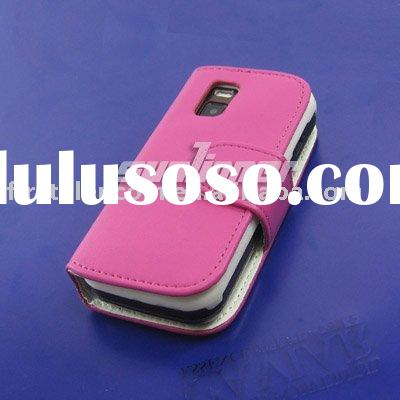New pink Leather Flip Case Holster for NOKIA N97 MINI