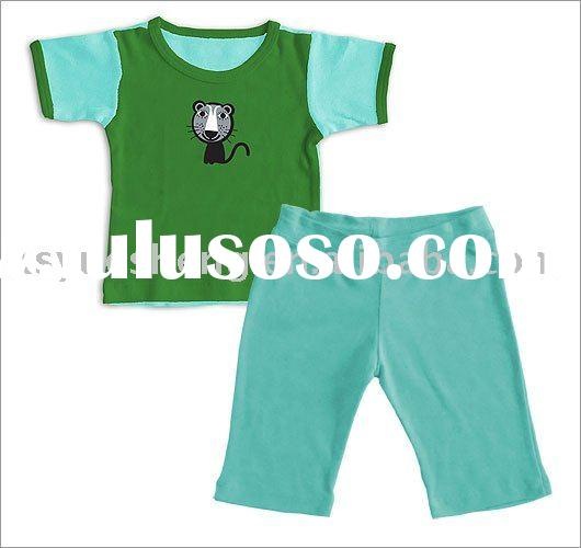 Organic Cotton Baby Cothes Set