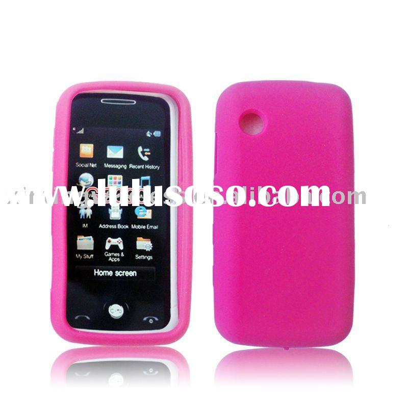 Silicon Gel Skin Cover Cell Phone Case for LG Prime GS390