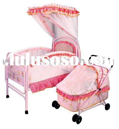 baby cot bedding set(WBB123)