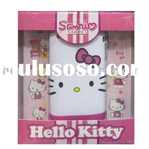 hello kitty cell phone case &mobile phone cover  for iphone3GS 4GS  HS4772 wholesale + mix order