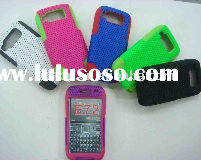 mesh and silicone combo case For Nokia E71