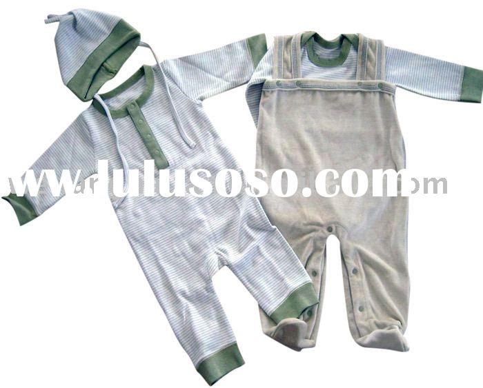 natural color organic cotton baby wear