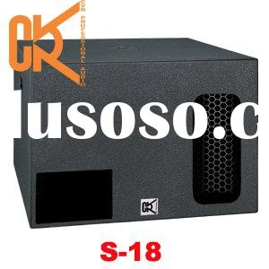 professional subwoofer loudspeaker PA audio products disco equipment