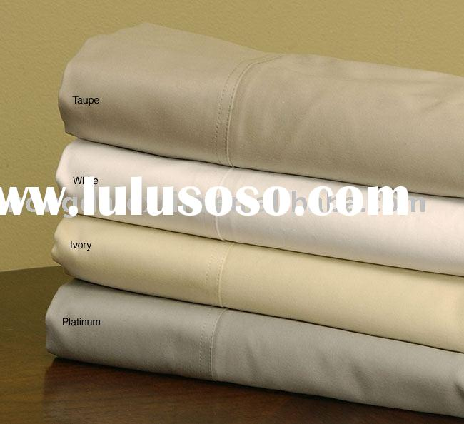 1000 Thread Count Solid Sateen Sheet Set