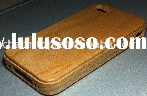 100% Real Wooden Hand-Made Case Cover for Apple iPhone 4 4G
