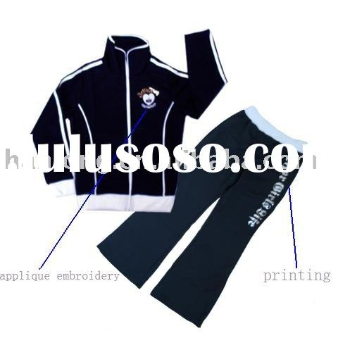 Big Girl's New Style Sports Suits