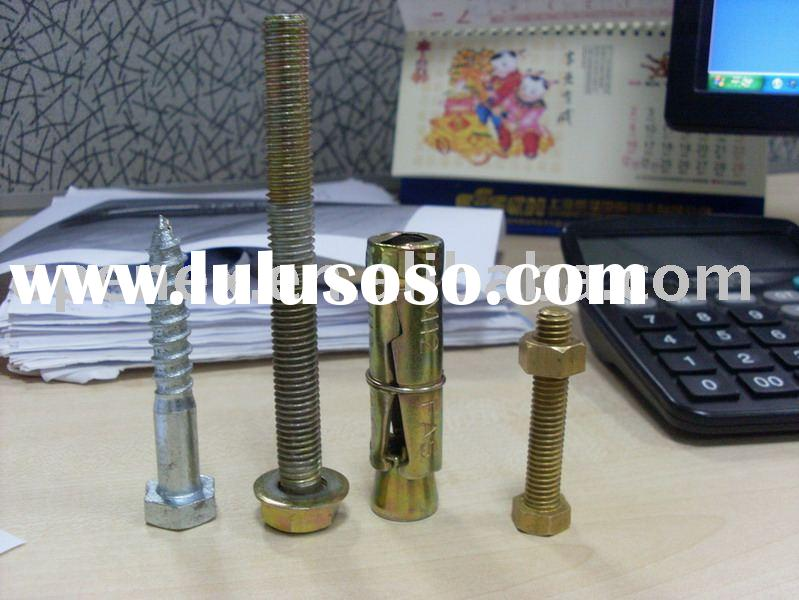 Bolt rawl, brass bolt, guardrail bolt,eye bolt