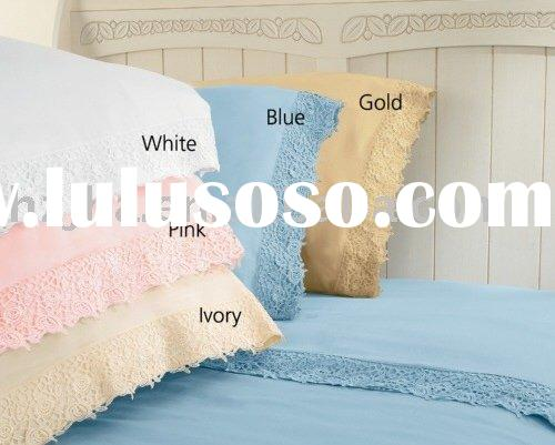 CSS114-300-Thread Count Rose Lace Sheets