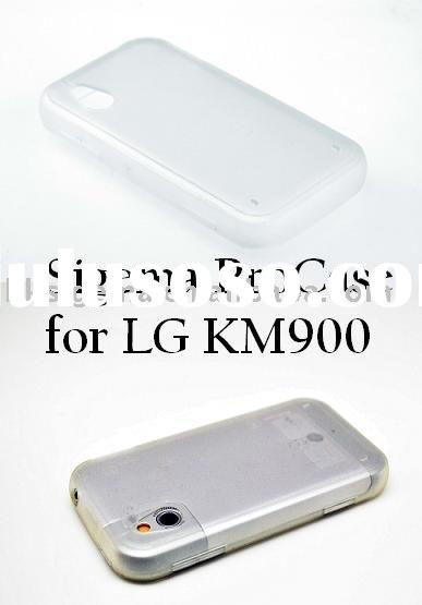 Case for LG KM900 (Transparent) High Quality