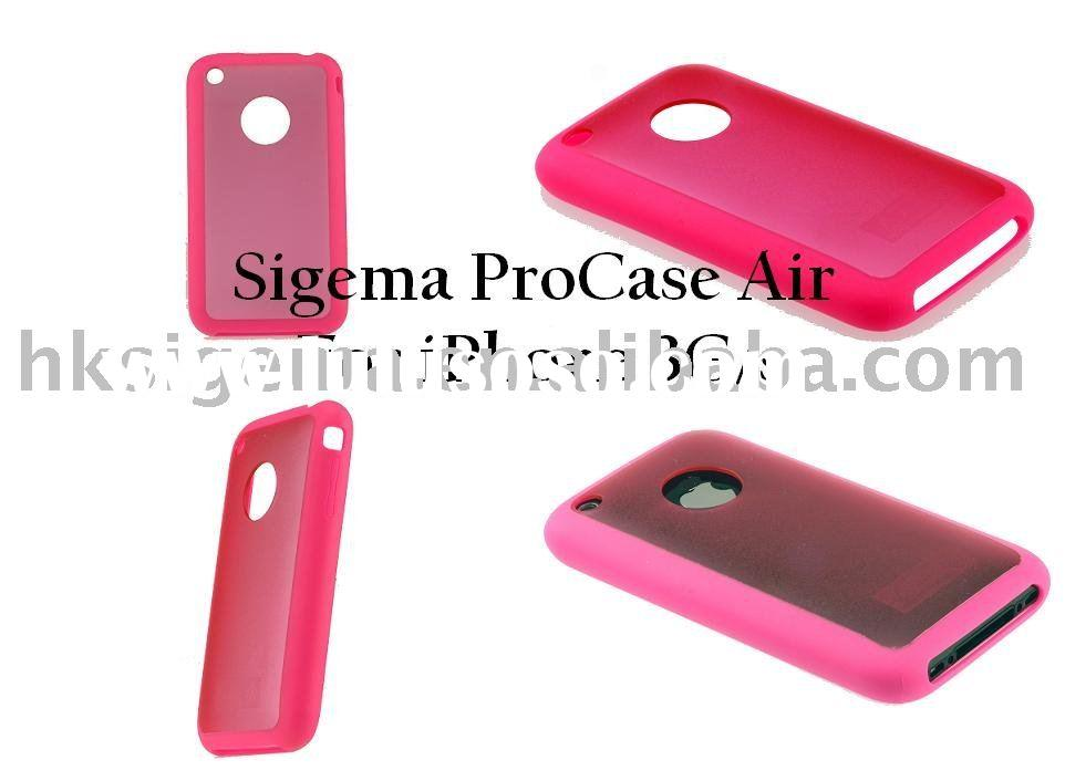Case for iphone 3G (Luminous Pink) High Quality