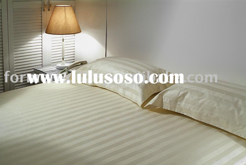 Cotton Bed Sheet,White Bed Sheet, Hotel bed sheet
