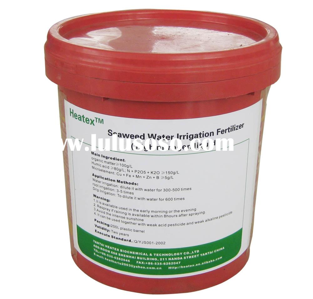 High Nitrogen Liquid Fertilizer (Seaweed Fertilizer)