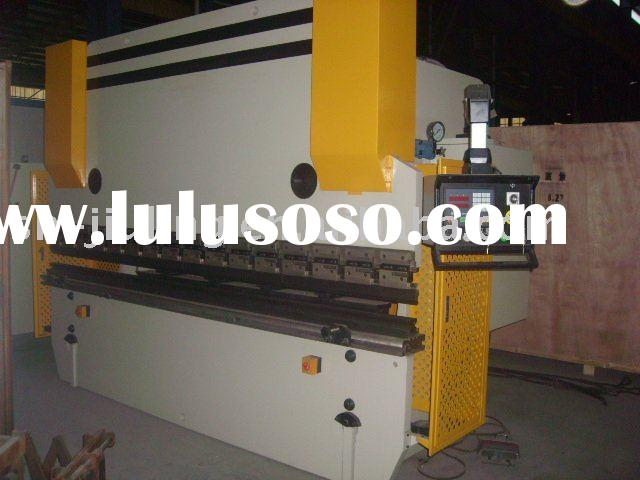 Hydraulic sheet metal bending machine