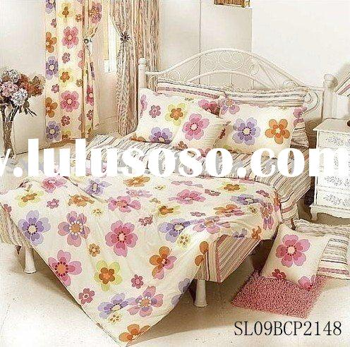 Kid  cotton  bedding set /curtain
