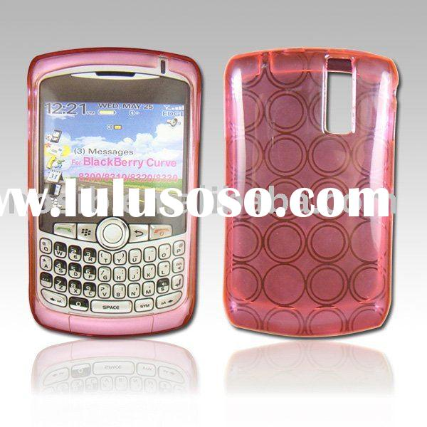 Mobile phone TPU transparent case design for blackberry