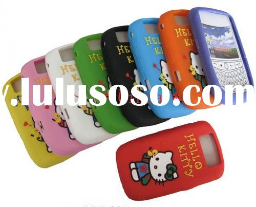 Newest Hello Kitty Silicone Case For BlackBerry Curve 8900/9300