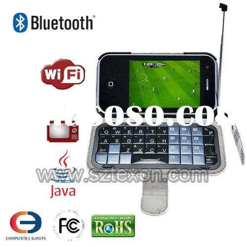 Quadband Dual sim card 3.2 inch TV WIFI Mobile cell phone T2000