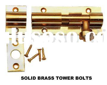 SOLID BRASS TOWER BOLTS