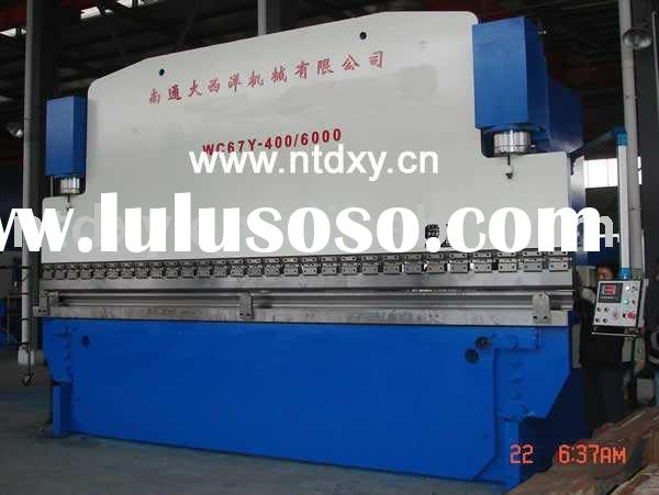 WC67Y series hydraulic press brake