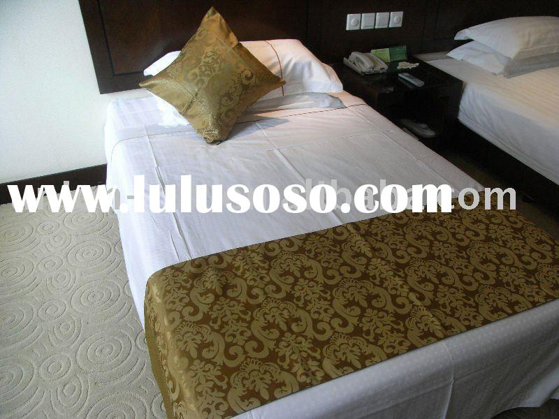 hotel bedspread/bed throw/bed runner/cushion cover