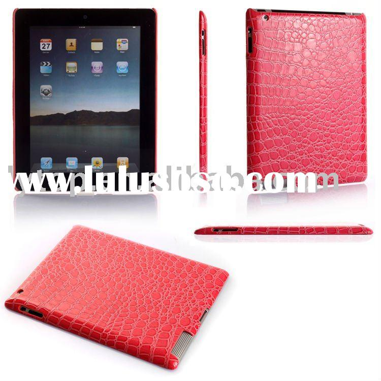 leather back case for iPad2