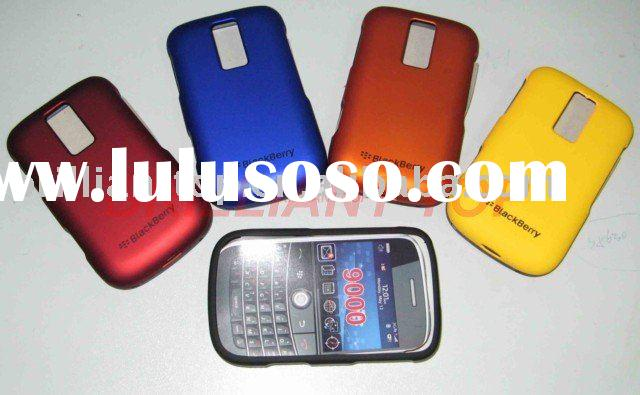 leather mobile phone case for Blackberry 9000/