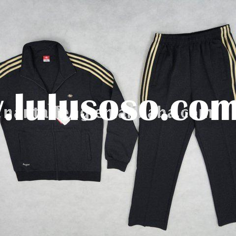 man and lady track suit