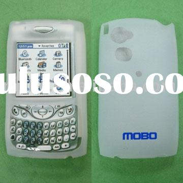 mobile phone silicon case with styling design for blackberry,