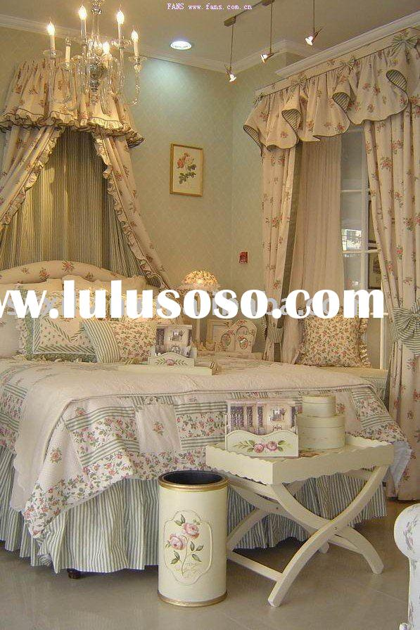 printing cotton bed sets/garden city style