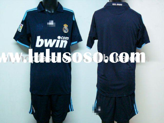 09-10 season TOP quality football jersey soccer jersey kits accept PAYPAL