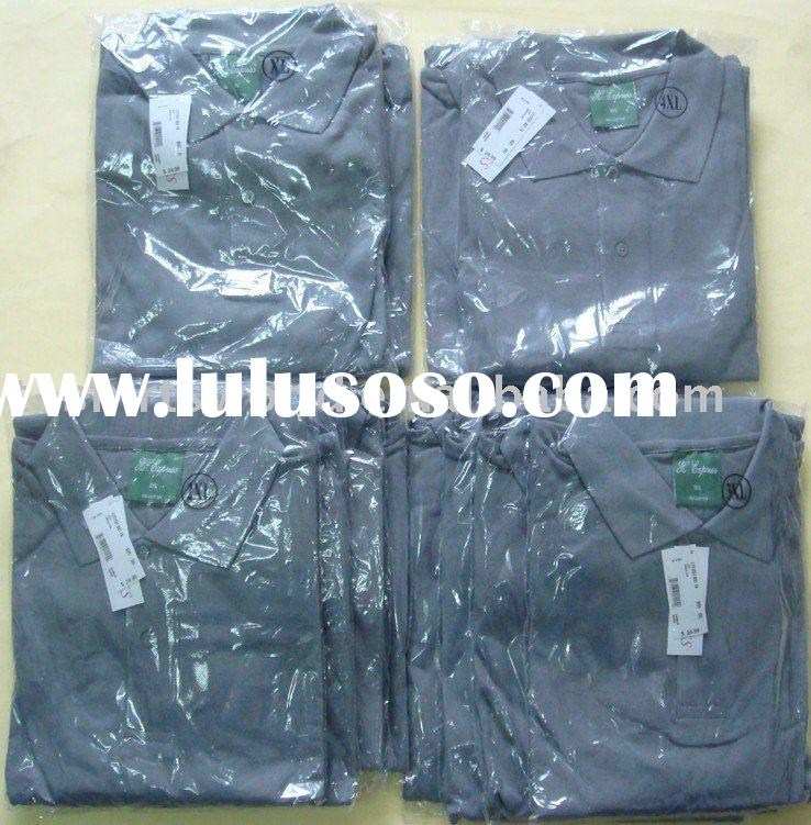 100% COTTON pique cotton polo t shirts